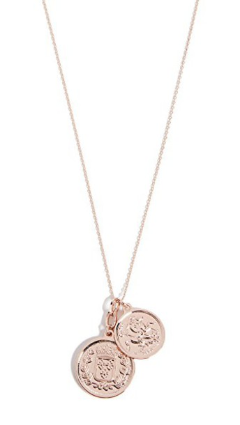 Cloverpost necklace rose gold rose gold jewels
