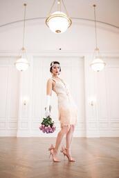 styleofsam,blogger,dress,gloves,shoes
