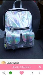 bag,metallic,backpack