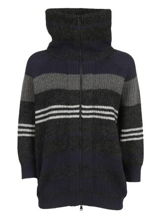 cardigan navy sweater
