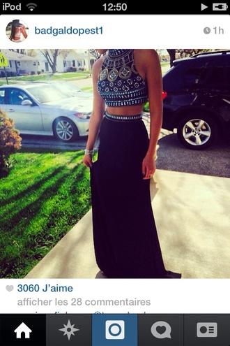 tank top skirt crop tops style dress