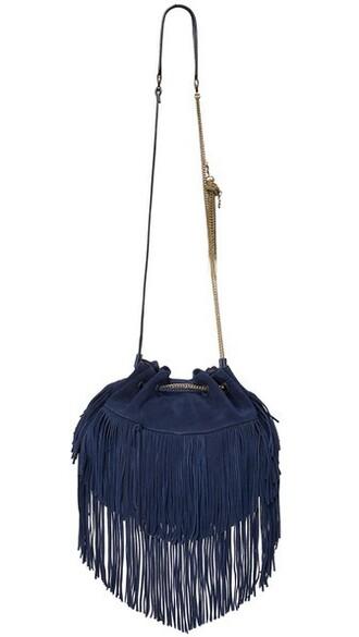 dark love bag suede