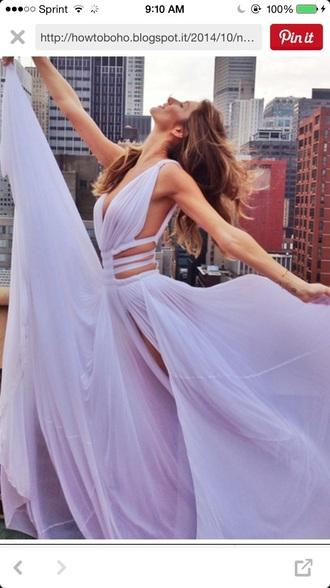 dress purple dress boho dress long dress formal dress