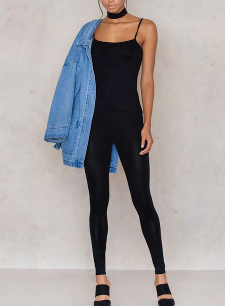Jumpsuit Na Kd Black Casual Comfy Fashion Style