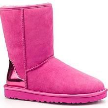 UGG® Australia Women's Classic Short Metallic Boots