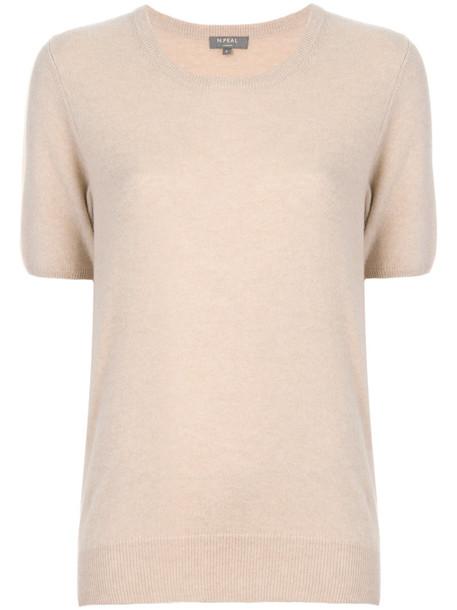 N.Peal t-shirt shirt t-shirt women nude top