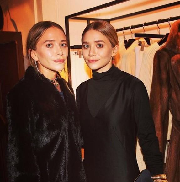 fur olsen sisters blogger jewels black