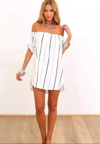 dress striped dress summer dress beach dress sexy dress summer style dress