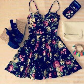 dress summer dress amazing flower dress