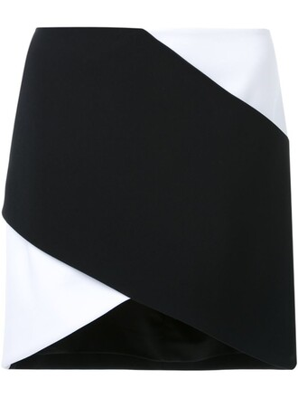 skirt mini skirt cross mini black