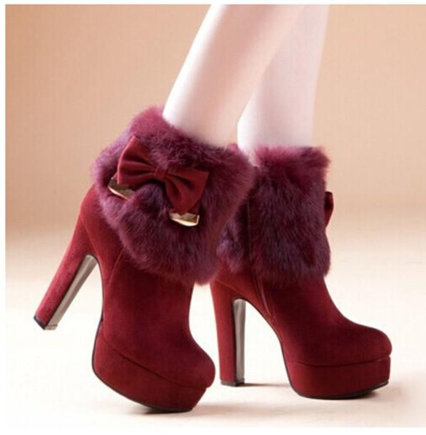 shoes female women hots winters