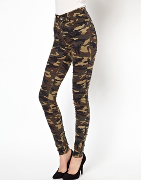 Dr Denim | Dr Denim Plenty High Waist Jeggings at ASOS