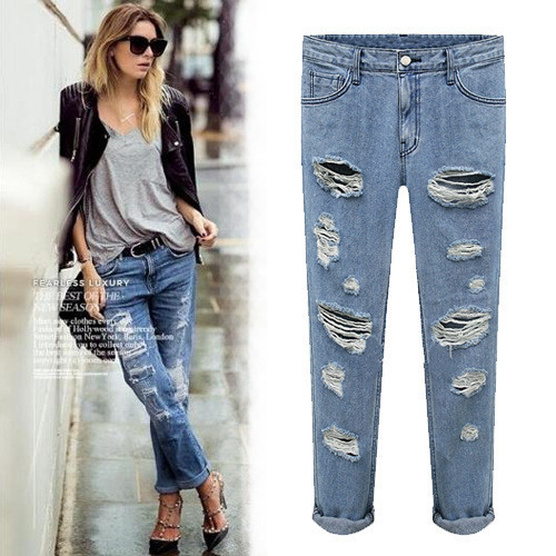 Do the old vintage washed jeans po1017c
