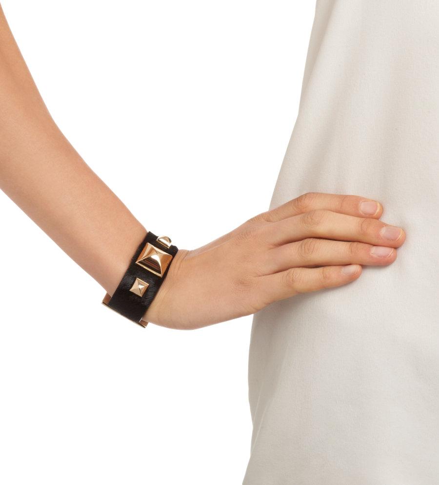 Fallon pyramid strap bracelet at barneys.com