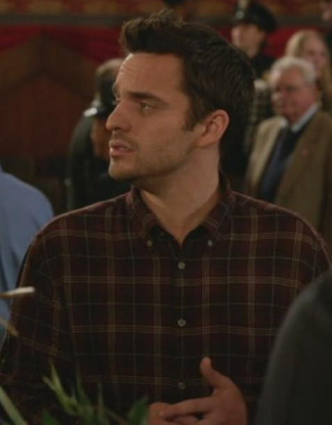 shirt jake johnson new girl men shirts nick miller