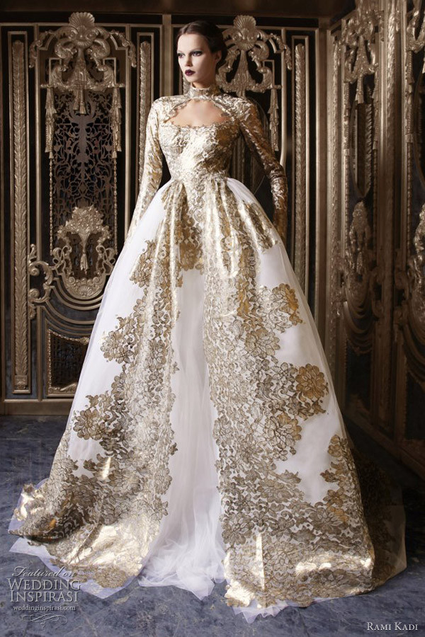 dress royal prom dress white and gold dress