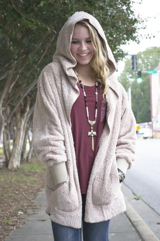 pockets jacket hoodie fall collection shopsiloe bear soft