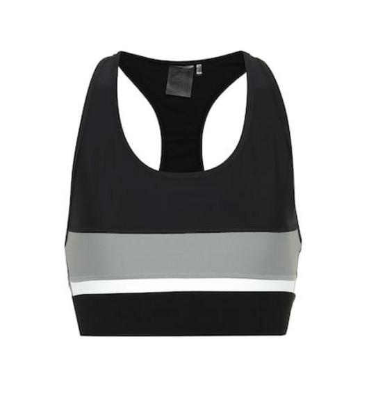 P.E Nation Altitude Crop sports bra in black