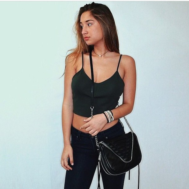 t-shirt savannah montano fashion love style bag