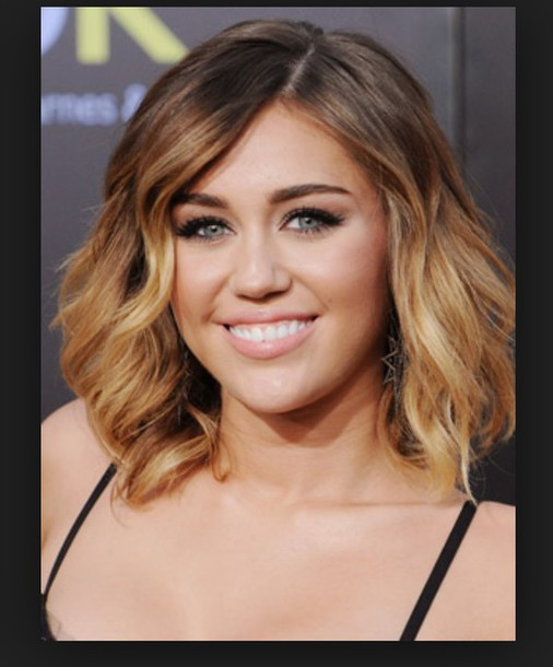 hair accessory bob brunette miley cyrus