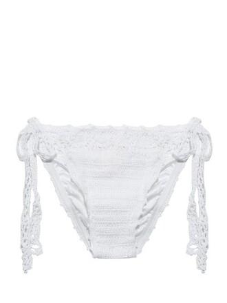 bikini crochet white swimwear