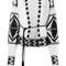 Laneus 'ucraino' cardigan, women's, size: 40, black, virgin wool/angora/cashmere/polyamide