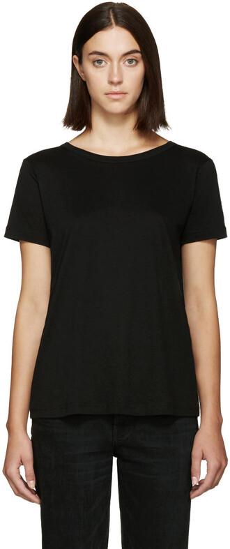 t-shirt shirt back black top