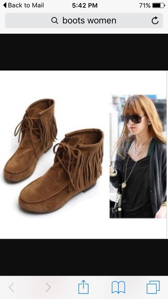 shoes brown style boots booties
