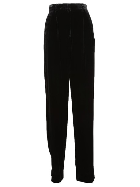 theory high waisted high black pants