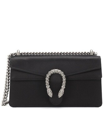 mini bag shoulder bag satin black