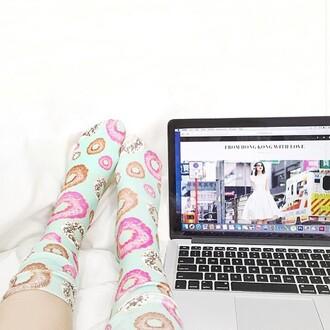 socks doughnuts