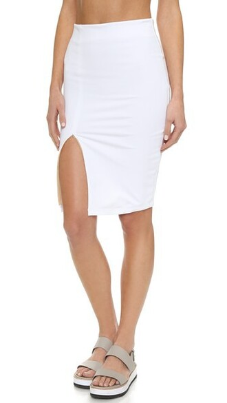 skirt soft white