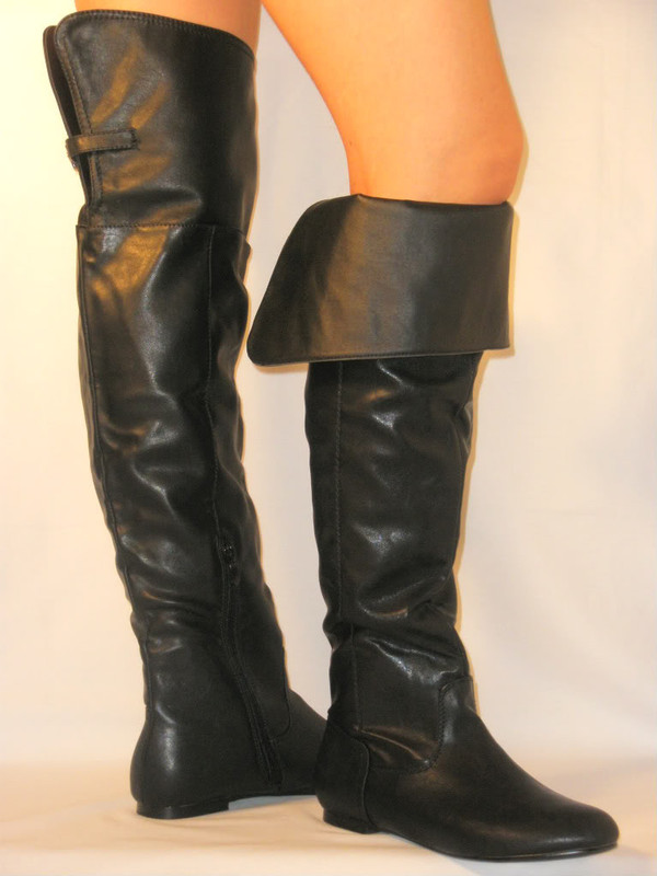 La Canadienne &39Secret&39 Over the Knee Boot - Polyvore
