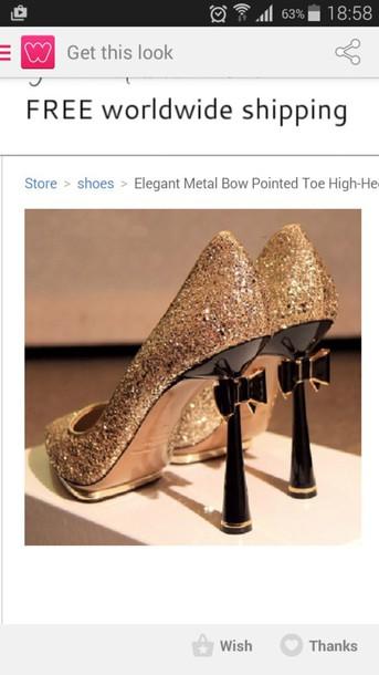 shoes sequin heels