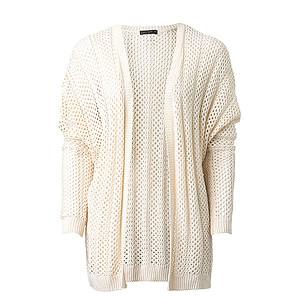 Free Fusion Open Knit Cardigan - Cream – Target Australia