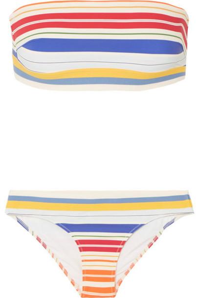 Stella McCartney bikini bandeau bikini red swimwear
