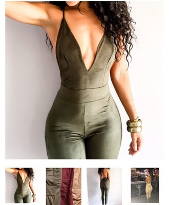 jumpsuit bodycon jumpsuit backless suede sexy tight khaki plunge v neck gorg v neck army green romper green fashion pretty cute cute dress cute outfits sexy jumpsuit girly girl girly wishlist olive green black jumpsuit asos jumpsuit white jumpsuit vintage jumpsuit heavy knit jumper topshop jumpsuit black and white jumpsuit denim jumpsuit outfit outfit idea tumblr outfit velvet hot style low cut summer free vibrationz