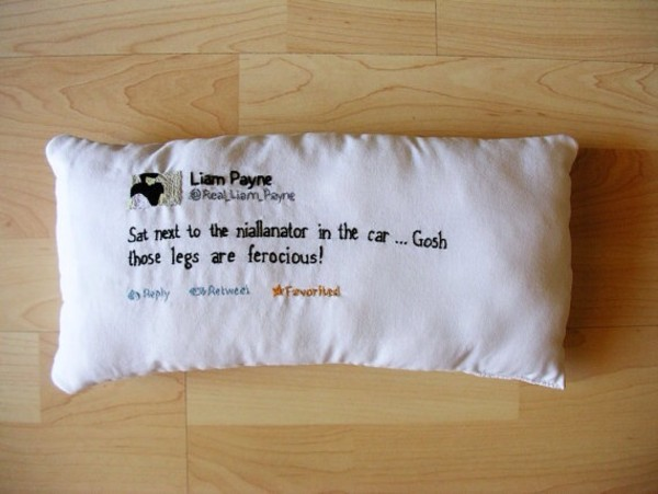 bag pillow one direction twitter liam payne harry styles niall horan zayn malik louis tomlinson lovely directioner