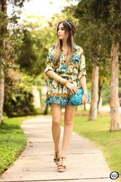 fashion coolture,blogger,clutch,headband,folk,boho,tropical