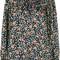 Isabel marant - floral print blouse - women - silk - 34, black, silk