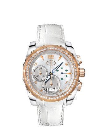lady brazil watch gold white jewels