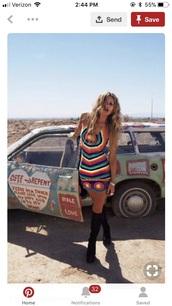 dress,crochet,crochet dress,hippie,boho,summer,festival look,music festival
