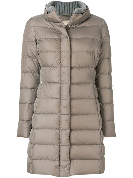 Herno coat women grey