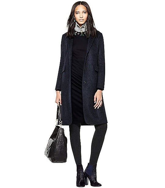 Klaudia Coat  | Womens Jackets & Outerwear | ToryBurch.com