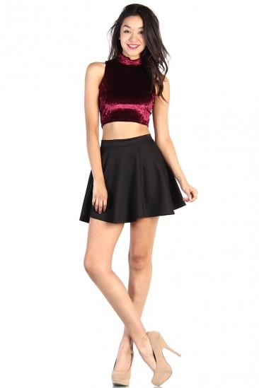 OMG Skater Skirt - Black