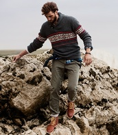 sweater,shawl,collar,knitwear,menswear,fair isle