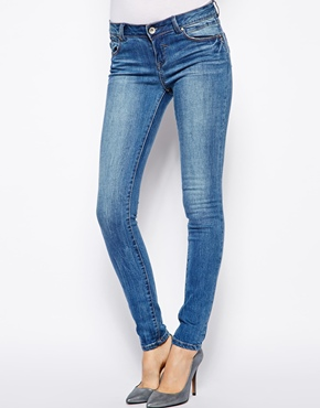 New Look | New Look Authentic Wash Skinny Jean at ASOS