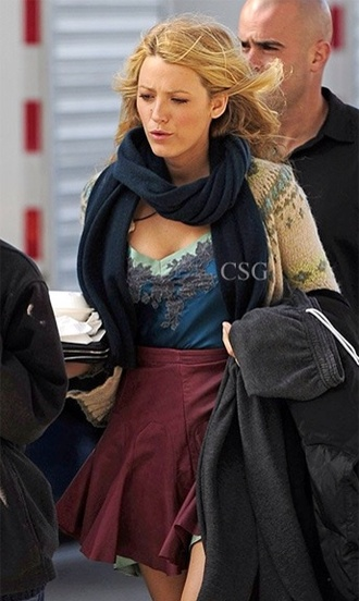 gossip girl style serena van der woodsen outfit