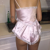 pajamas,lingerie,sleep,pink,lacy,romper,tumblr,tumblr outfit,pink underwear