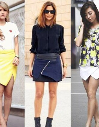 skirt wrap skirt navy skirt
